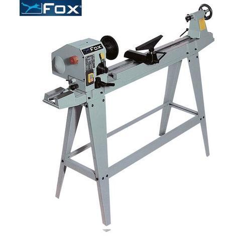 Fox - Tour à bois à vitesse variable 965mm ENTRE-POINTES 450W + Socle - F46-255