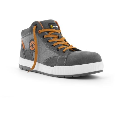 Foxter - Chaussures de sécurité   Hommes   Montantes   Baskets de Travail   Légères et Respirantes   S1P SRC