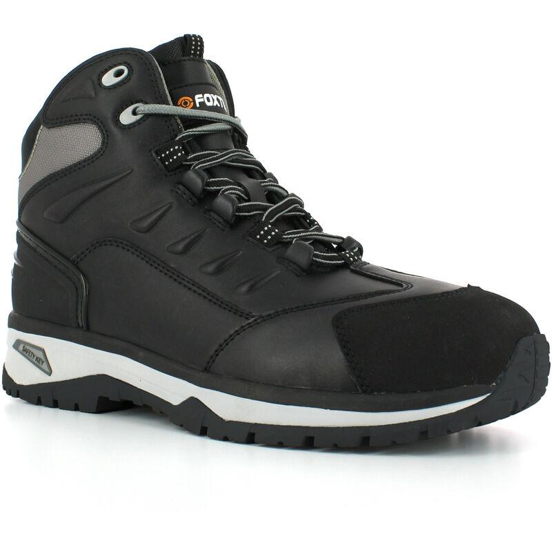 Foxter Chaussures de sécurité   Hommes   Montantes   Baskets de Travail   Légères et Respirantes   SafetyKey : Grand Confort   Imperméable   Cuir
