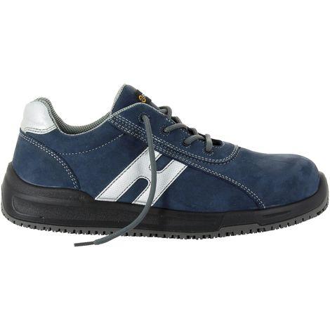 Foxter - Chaussures de sécurité   Mixte : Hommes et Femmes   Basses   Baskets de Travail   Légères et Respirantes   Sans métal   S1P SRC