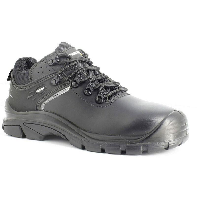 Chaussures de s/écurit/é Foxter S3 SRC HRO Imperm/éable Basses Cuir Noir Mixte : Hommes et Femmes