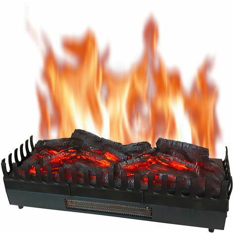 foyer effet feu pour cheminée existante xl - 201 - chemin'arte