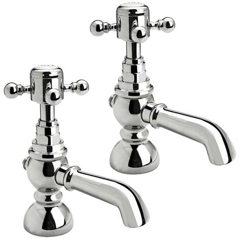 Foyle Basin Taps (Pair) - By Voda Design