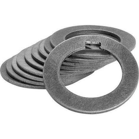 Fräsdornring, DIN 2084, Form A, Ø-22 mm, b1 = 0,10 mm