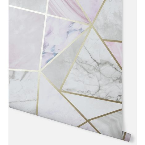 Fragments Multicoloured Wallpaper - Arthouse - 697200