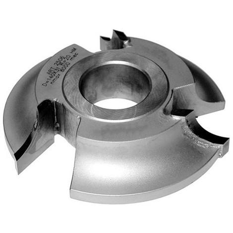 Fraise 1/4 rond rayon 6 mm dessous D. 140 x Al. 50 x Z 3 coupes HM - MFLS - FRAI0143
