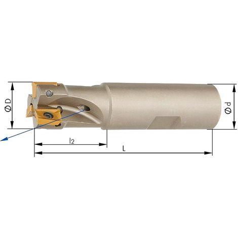 Fraise 90° D5 arrosage central D32mm pour APKT10 1 PCS