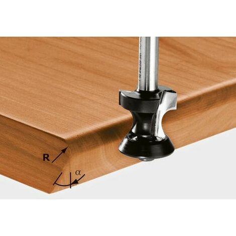 Fraise à gorge creuse HW avec queue de 8mm HW S8 D24/R6/45°