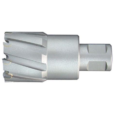Fraise à métaux durs TCT carbure D. 24.0 x Lu. 50 mm x Q. WELDON pour perceuse magnétique - LT240500 - Labor - -