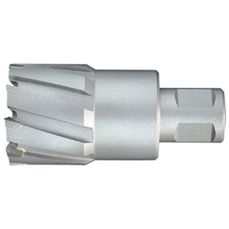 Fraise à métaux durs TCT carbure D. 43.0 x Lu. 50 mm x Q. WELDON pour perceuse magnétique - LT430500 - Labor - -