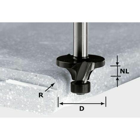 Fraise à moulurer HW avec queue de 12 mm FESTOOL HW R3/D22 ss S12 - 492681