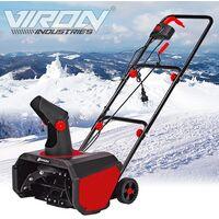 Fraise à neige déneigeuse électrique 1600W Viron Motors