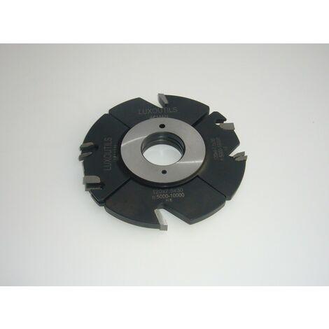 Fraise a rainer carbure 120 mm extensible 4 à 15 mm toupie 30 mm