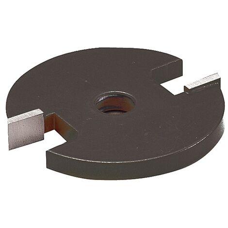 Fraise à rainer carbure, diamètre 48 mm, épaisseur 2,5 mm