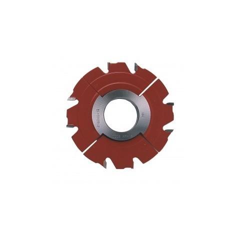 Fraise à rainer carbure extensible de 5 à 9,5 mm toupie arbre 50 mm