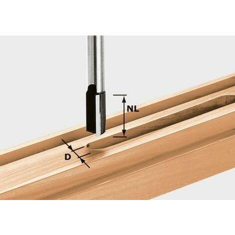 Fraise à rainurer avec queue de 12 mm HW S12 D14/50
