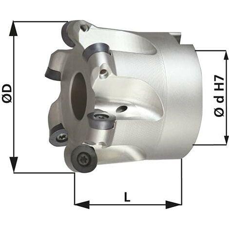 Fraise alésage lisse D5 arrosage central D66x27mm pour type RD 1 PCS