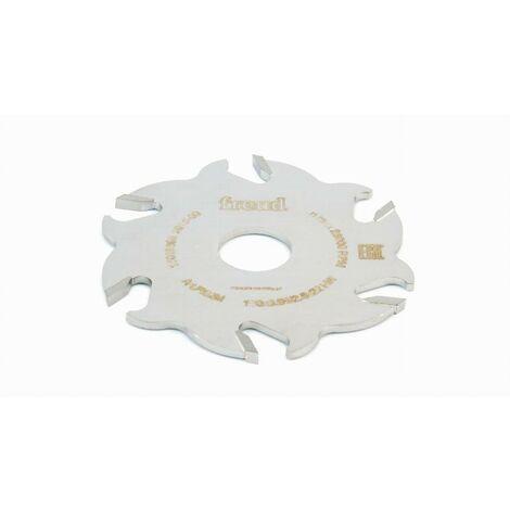 Fraise brasée pour assemblage à lamelles FREUD - Ø100 E3,95 Q22 Z6 - F03FS00656 -FI02M BX3