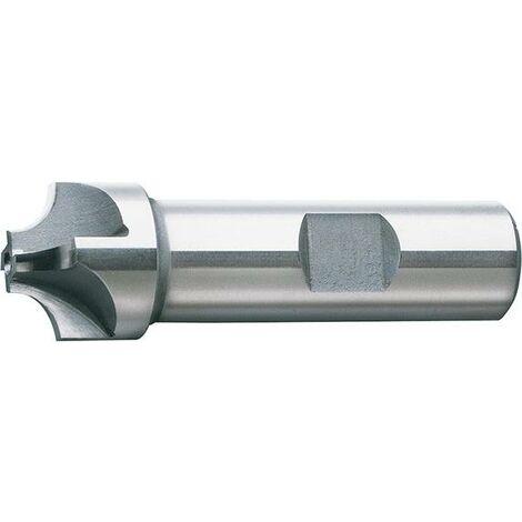 Fraise concave DIN6518 HSSCo8 TiCN forme B 6mm FORMAT 1 PCS
