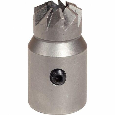 Fraise conique pour siège d'injecteur Fiat/Iveco Ø 17/21 mm Longueur38 mm