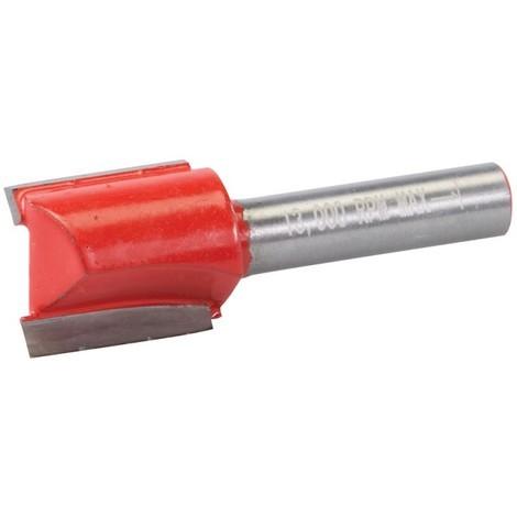 Fraise droite de 8 mm métrique - 18 x 20 mm