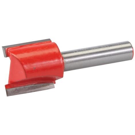 Fraise droite de 8 mm métrique - 20 x 20 mm