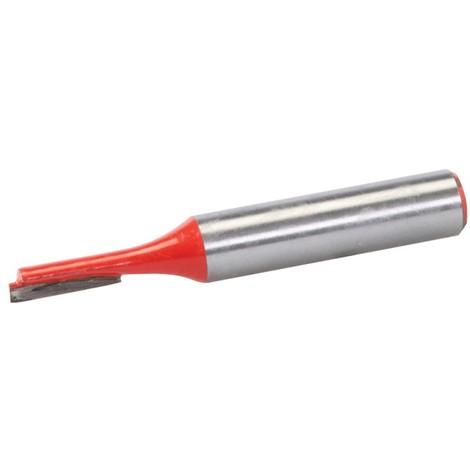 Fraise droite de 8 mm métrique - 4 x 12 mm