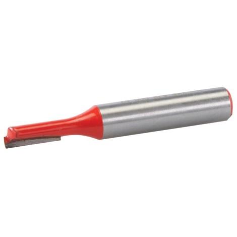 Fraise droite de 8 mm métrique - 5 x 12 mm