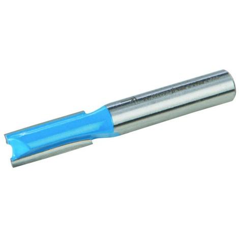Fraise droite de 8 mm métrique - 8 x 20 mm