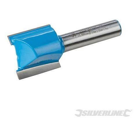 Fraise droite métrique de 8 mm, 20 x 20 mm