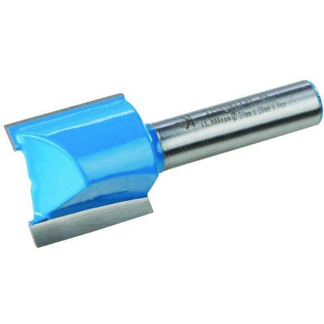 Fraise droite métrique de 8 mm Choix du modèle 20 x 20 mm
