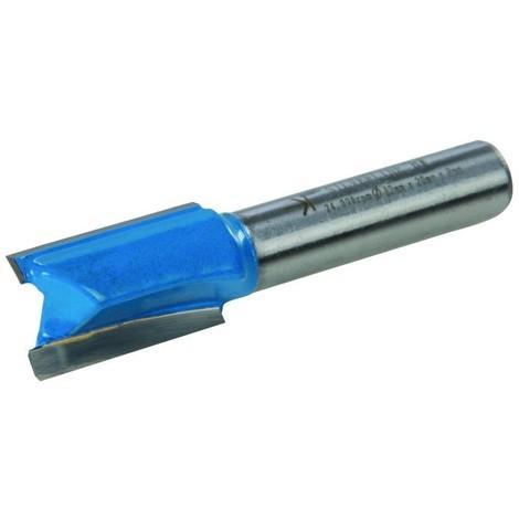 Fraise droite métrique de 8 mm Taille 12 x 20 mm