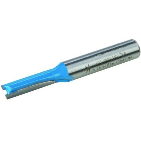 Fraise droite métrique de 8 mm Taille 6 x 20 mm