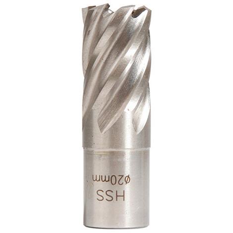 Fraise HSS Weldon 19 mm hauteur 25 mm D. 20 mm - 20598208 - Sidamo - -