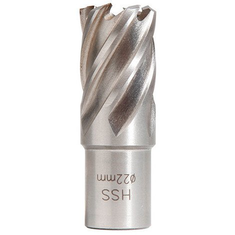 Fraise HSS Weldon 19 mm hauteur 25 mm D. 40 mm - 20598228 - Sidamo - -
