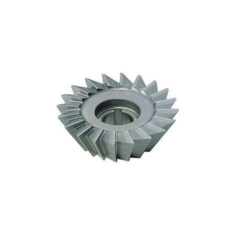 """main image of """"Fraise queue d'aronde DIN842 HSS forme A 45° 40x10mm FORMAT 1 PCS"""""""