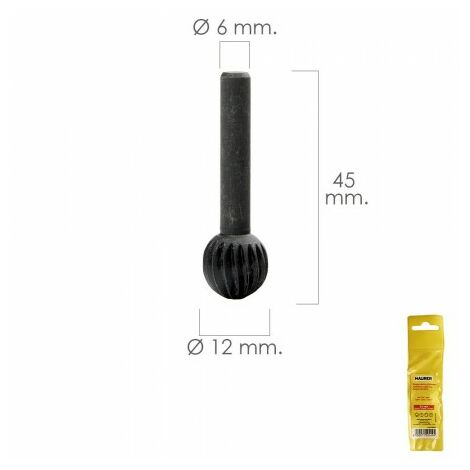 Fraise rotative pour métal Ø 12 mm. pour perceuse / fraiseuse