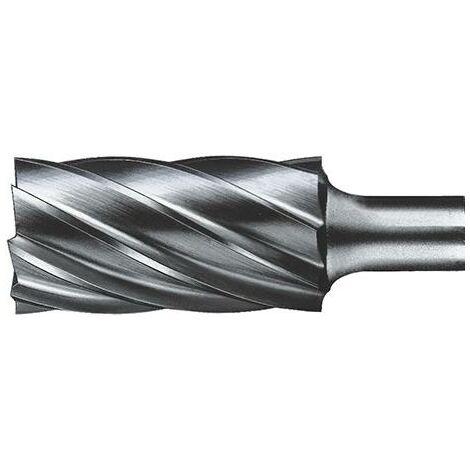 Fraise sur tige carbure cylindrique avec denture frontale 1020 alu 8mm 10x20mm FORMAT 1 PCS