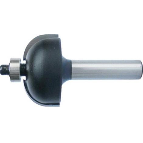 Fraises à gorges creuses, outil à bois, Ø : 28,5 mm, Rayon 9,5 mm, Long. utile 14 mm, Long. totale : 56 mm