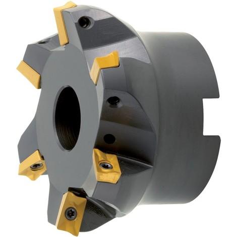 Fraises a surfacer 75 Degré m. IK.D 80mm Z 7 pour APKT10