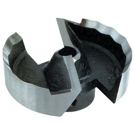 Fraisoir plat pour mèche à hélice, diamètre 62 mm