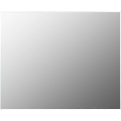 Frameless Mirror 100x60 cm Glass