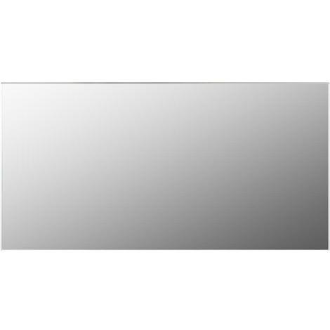 Frameless Mirror 120x60 cm Glass