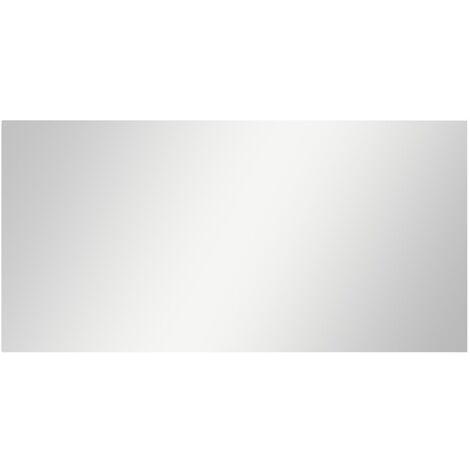 Frameless Mirror 140x60 cm Glass