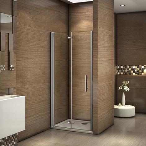 Frameless Pivot Hinge Bifold Shower Enclosure Glass Cubicle Door ,shower tray