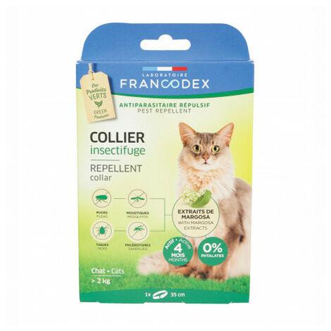 Francodex Collar Repelente Gatos 35 cm