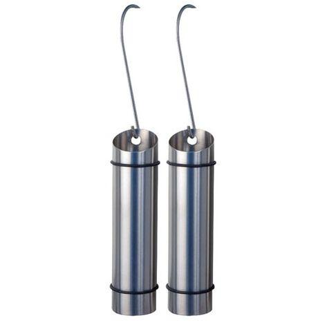 FRANDIS - Saturateur tube à suspendre - 5x20.5 cm - inox - lot de 2