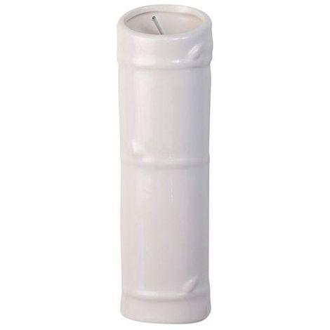 FRANDIS - Saturateur tube à suspendre - 6x5x20 cm - blanc