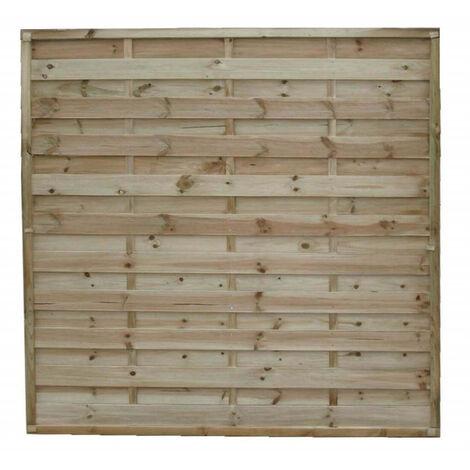 frangivento da giardino in legno di pino impregnato in autoclave 180 x 180