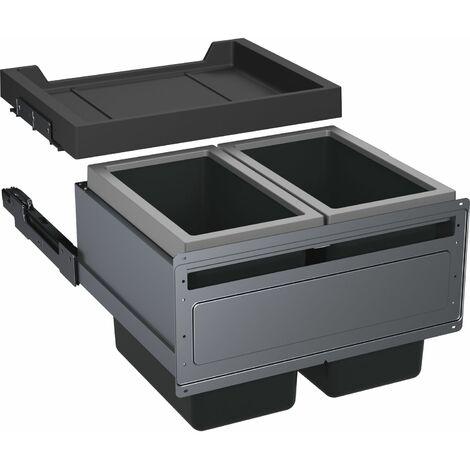FRANKE Abfallsammler FX 60 26-26, KB 600mm, 600x448x456, 2x26 l-Eimer